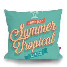Cushion Cover SUMMER TROPICAL by Sticky!!!