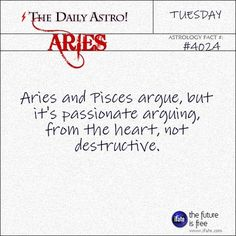 #pisces and #Aries (my hubby)