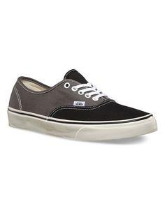 Vans Men s Authentic Vintage 2-Tone Shoes - Black Charcoal 66160156231