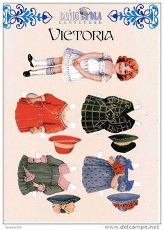 Vieux Papiers > Chromos & Images > Découpis > Après 1965 > Enfants - Delcampe.fr