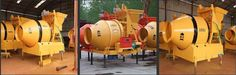 Industrial cement mixer small portable JZM concrete mixer JZM electric portable concrete mixer is a kind of mobile and bi-pyramid reversal discharging mixer  machine, which can mix plastic concrete and low flow concrete. The discharging volume of mixing  tank is 0.35/0.45/0.5 cubic meters. And each mixing circle needs only 100 seconds.Friction type concrete mixer on the hopper have separate motor http://batchingplantng.com/concrete-mixer/JZM-concrete-mixer.html