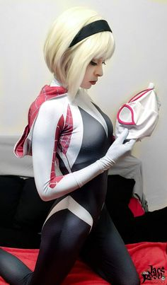 /r/cosplay: for photos, how-tos, tutorials, etc. Cosplayers (Amateur and Professional) and cosplay fans welcome. Cosplay Anime, Marvel Cosplay, Cute Cosplay, Best Cosplay, Cosplay Girls, Cosplay Costumes, Spider Girl, Spider Gwen Cosplay, Looks Pinterest