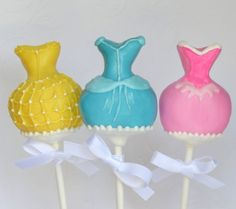 Cake pop princesas