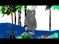 Foivos Delivorias - The Little Elephant - Official Animation Video Preschool Education, Little Elephant, Kids Boxing, Animated Gif, My Music, Animation, Disney Characters, Fictional Characters, Songs