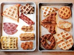 Recipe developers at Food Network Kitchen waffled foods like pizza and puff pastry to see what waffling's magical crispifying effect improved (and what it didn't).
