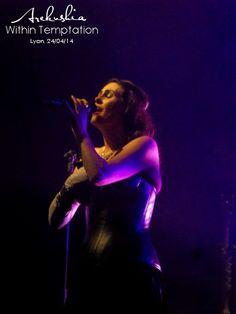Within Temptation, Hydra Tour, Lyon 2014 by oOoArekushiaoOo on deviantART
