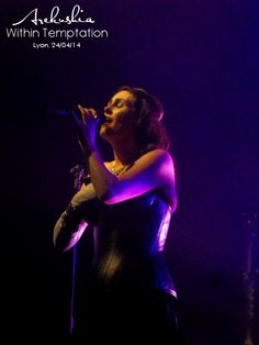 Within Temptation, Hydra Tour, Lyon 2014 by oOoArekushiaoOo on deviantART