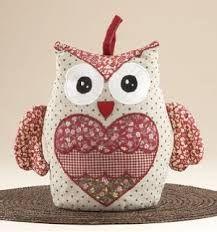 Image result for pattern for doorstop owl