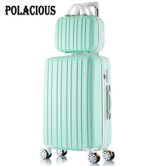 "96.76$  Watch now - http://alirtl.worldwells.pw/go.php?t=32714019217 - ""26+12inch New surface like sandpaper stripes trolley suitcase sets/ 20"""" boarding luggage/10Colors universal wheels trolley candy"""