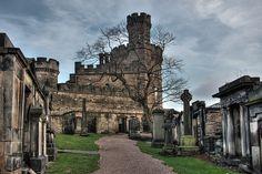 The Governor's House - Calton Cemetery, Edinburgh