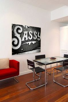"Oliver Gal ""Sassy"" Canvas Art by Oliver Gal Gallery on @HauteLook"