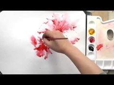 How to draw the flower by Um KyungHo - YouTube