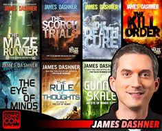 *PIN to WIN* Meet fiction author James Dashner at #SLCC15! Writer of The Maze Runner Series! #utah  / #SLCC15 Tickets on Sale Now http://saltlakecomiccon.com/slcc-2015-tickets/?cc=Pinterest