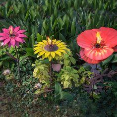 Floral Garden Torches