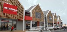 retail park architecture - Google Search