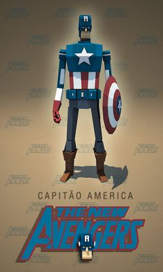 The Avengers Characters on Behance
