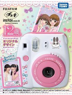 Intax Age 12 Design ver. Japanese Instant Camera Kawaii Anime Takara Tomy 65C