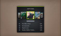 Mini Spotify - 365psd