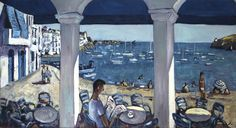 """Ramón Moscardó: """"Vista al Port. Cadaqués"""" (2006) - Subasta Real"""