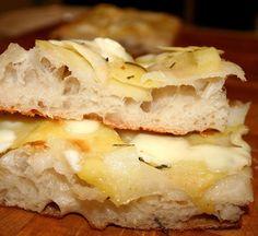 farina) Pizza Recipes, Bread Recipes, Focaccia Pizza, I Love Pizza, Pizza Bake, Salty Cake, Italian Recipes, Sandwiches, Homemade