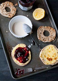 10 Minute English Muffin Berry Cream Cheese Danish   Neighborfoodblog.com