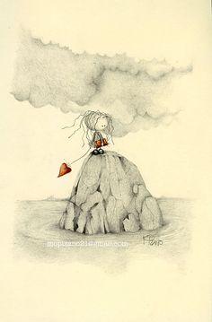 The Rock, The Diary and The Heart (c) | Maricarmen Pizano | Flickr