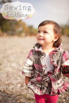 Lainey Jacket Sizes 12/18 months to Size 7 PDF by sewsweetpatterns, $7.00