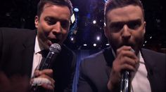 """Justin Timberlake and Jimmy Fallon Perform 'History of Hip Hop 6' On Wednesday's Tonight Show Starring Jimmy Fallon, Justin Timberlake and Jimmy performed the sixth installment of """"The History of Hip Hop."""" The two performed a rap remix of some of the biggest hip hop songs from the past 30 years."""