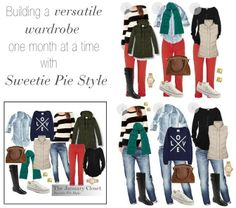 Sweetie Pie Style: The January Closet-Final Outfits & Giveaway!
