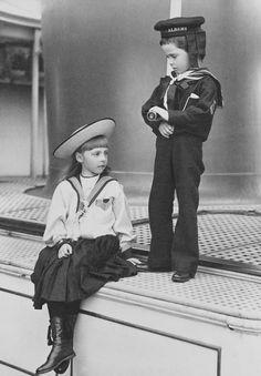 Princess Alice and Charles Edward, Duke of Albany, 1891