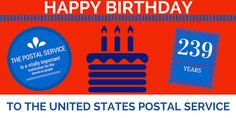 Happy 239th Birthday to the US Postal Service