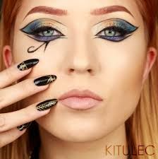 Image result for cleopatra makeup