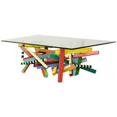Funky home decor - A splendid yet clever funky resource of funky decor example. Dazzling topic example reference 9572569143 organized under category funky home decor ideas cofee tables, generated on 20181224 Furniture Styles, Table Furniture, Cool Furniture, Furniture Design, Office Furniture, Funky Home Decor, Colorful Decor, Memphis Furniture, Coffee Tables For Sale