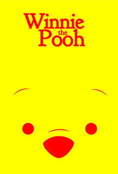 My Winnie the pooh poster I made! I sleep with a pooh bear every night so this one was importante' to me! <3