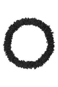 Black Elastic Band Collar - Jewellery - Bags & Accessories