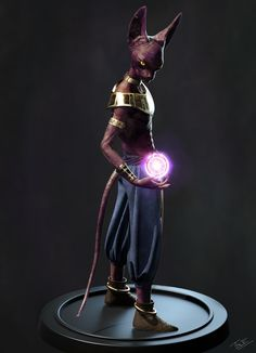 hello everyone. Just an update for My Beerus sculpt. Rendered in 3ds max and Vray. Effects done in Photoshop. Hope you all like it :)