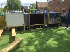 How To Produce Elementary School Much More Enjoyment Long Marston Va Primary School - Eyfs Playground Pentagon Play Outside Playground, Preschool Playground, Preschool Garden, Playground Ideas, Backyard Playground, Eyfs Outdoor Area, Outdoor Play Areas, Outdoor Art, Outdoor Games