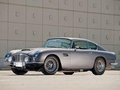 1965-70 Aston Martin DB6 Vantage.  Want one.