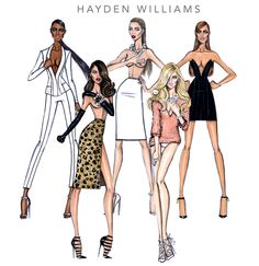 In Command, Going Wild, Bare Minimalist, Blonde Ambition and Black Panther by Hayden Williams