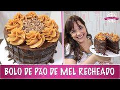 BOLO PÃO DE MEL - ESPECIAL 100 MIL INSCRITOS - #358 - Receitas da Mussinha - YouTube