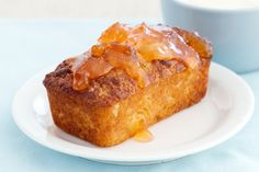 Bite into this warm citrus loaf with a dollop of marmalade to start your day off on just the right note. Loaf Recipes, Almond Recipes, Gluten Free Recipes, Sandwich Roll Recipe, Rolls Recipe, Mandarine Recipes, Mandarin Cake, Citrus Cake, Best Food Photography