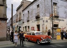 Mexico City with Chevy by Fred Herzog, 1963.