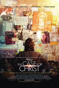 The Case for Christ is the nonfiction account of Lee Strobel's discourse with a dozen experts in various fields to chase down the historical truth of Jesus Christ.   See it in theaters on April 7th