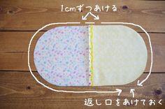 簡単♪しずく型巾着の作り方 |   輸入生地の店 233Fabrics  ぬのぬの、つながれ