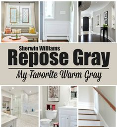 Repose Gray - My Favorite Warm Gray