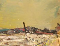 Your Paintings - Joan Kathleen Harding Eardley paintings Pierre Bonnard, Mary Cassatt, Landscape Artwork, Abstract Landscape, Abstract Art, Painting Snow, Painting & Drawing, Henri Matisse, Monet