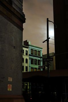 New York blackout | photography by Christophe Jacrot