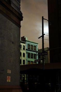 New York blackout | photography by Christophe Jacrot