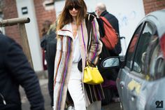 French musician artist wearing all Fendi