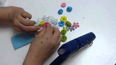 diy  faciles flores rococo para decorar lazos multicolores .   tutorial ...